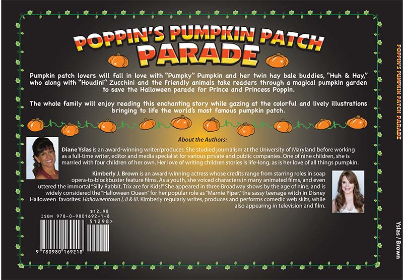 Poppin's Pumpkin Patch Parade back cover